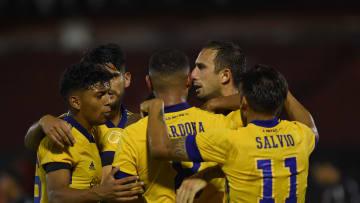 Newell's Old Boys v Boca Juniors - Copa De La Liga Profesional 2021.