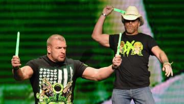 Triple H and Shawn Michaels both follow a football team of their own