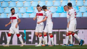 Türkiye'nin Norveç maçındaki gol sevinci