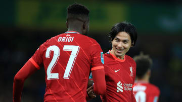 Minamino and Origi eased Liverpool into the fourth round of the Carabao Cup