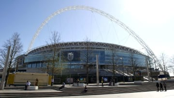 The incident happened at Wembley