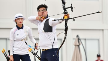 South Korea is the favorite in the odds to win the mixed team archery Gold Medal at the 2021 Tokyo Olympics.
