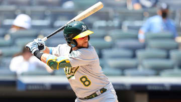The Athletics rank 4th in MLB in OPS in the month of June.