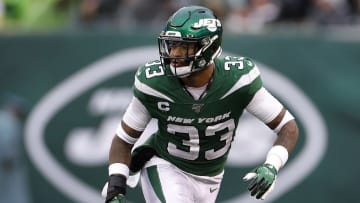 Safety Jamal Adams playing for the New York Jets.