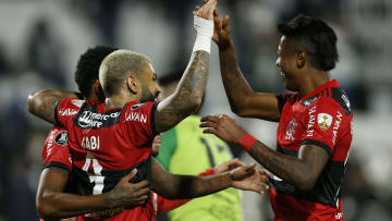 Flamengo goleou o Olimpia