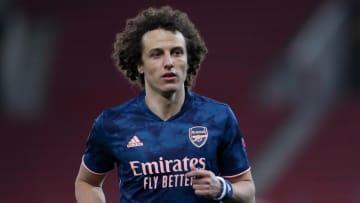 El jugador David Luiz.