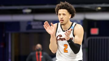 Oklahoma State guard Cade Cunningham is the heavy favorite in the odds to be the No. 1 pick in the 2021 NBA Draft.
