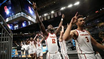 USC basketball celebrations.