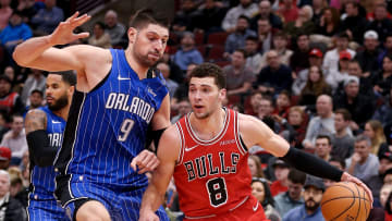 Nikola Vucevic and Zach LaVine could give Bulls fans something to cheer for.