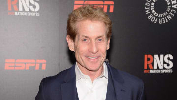 Skip Bayless on the red carpet.