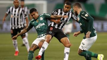 Palmeiras v Atletico Mineiro - Copa CONMEBOL Libertadores 2021 - Palemiras y Mineiro no se sacaron ventajas.