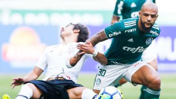 Felipe Melo não deve renovar com o Palmeiras no final do contrato