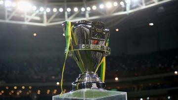 CBF divulgou o resultado do sorteio | Palmeiras v Santos - Copa do Brasil 2015 Final