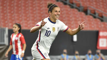 Carli Lloyd is playing her final matches for the USWNT