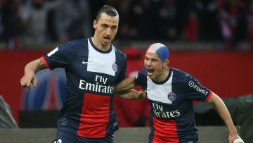 Christophe Jallet a remporté beaucoup de titres au Paris Saint-Germain aux côtés de Zlatan Ibrahimovic