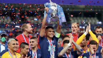 Le PSG, tenant du titre et club le plus titré de Coupe de France.