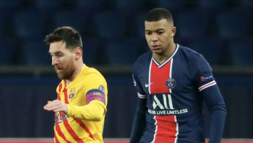Kylian Mbappe could potentially be playing in the same team as Lionel Messi