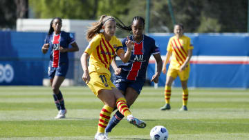 Paris Saint Germain v FC Barcelona - UEFA Women's Champions League Semi Final: Leg One