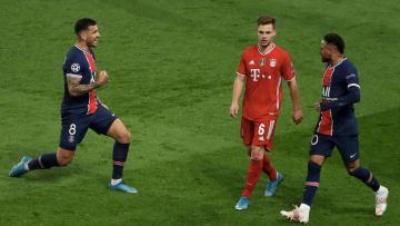 Der FC Bayern musste nach Schlusspfiff den PSG-Jubel über sich ergehen lassen