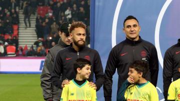 Kylian Mbappe, Neymar Jr, Keylor Navas