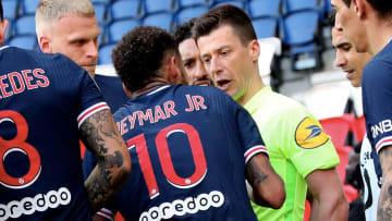 Neymar a été exclu face à Lille.