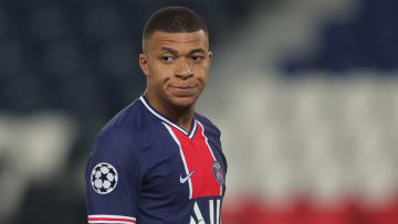 Kylian Mbappe does not appear to be fully fit
