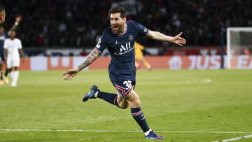 Lionel Messi finally scored his first PSG goal