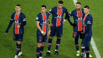 Marco Verratti, Neymar Jr, Kylian Mbappe, Mauro Icardi, Angel Di Maria