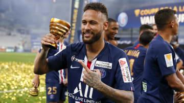 Le Paris-Saint-Germain de Neymar a remporté la dernière édition de la Coupe de la Ligue en 2020.