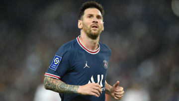 Lionel Messi was substituted in PSG's win over Lyon