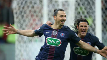 Ibrahimovic y Cavani, PSG