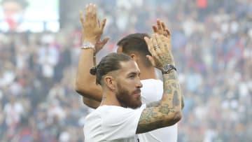 Ramos n'a toujours pas fait ses débuts officiels avec le PSG