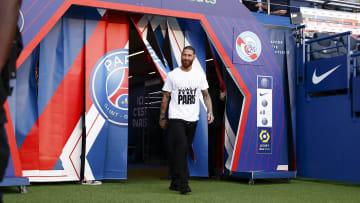 Ramos ainda não estreou pelo PSG