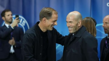 Thomas Tuchel & Zinedine Zidane will meet again