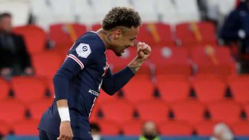 Neymar conduziu o PSG à goleada contra o Reims