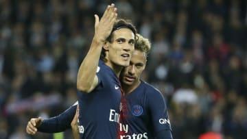 Cavani e Neymar integram a seleta lista