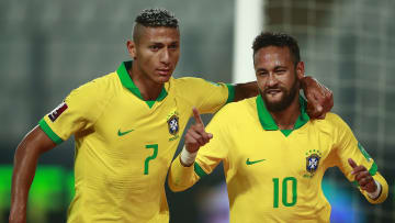 Neymar and Richarlison are international teammates, and they could play together at club level too