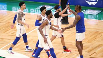 76ers derrotaron con autoridad a los Boston Celtics
