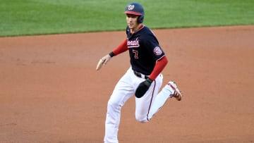Trea Turner de los Nacionales es uno de los jugadores más veloces de la MLB