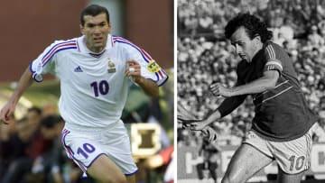 Zinedine Zidane, Michel Platini