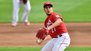 Trevor Bauer, Pittsburgh Pirates v Cincinnati Reds - Game One