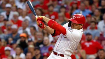 Joey Votto conectó su hit 2.000 en la MLB