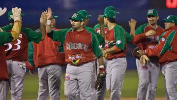 Players of Venados de Mazatlan of Mexico