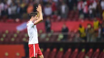 Lewandowski, el mesías de la Selección de Polonia.