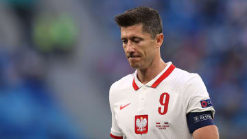 Robert Lewandowski was poor for Poland in defeat to Slovakia