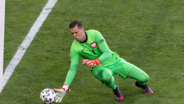 Wojciech Szczesny became the first goalkeeper to score an own goal in European Championships history
