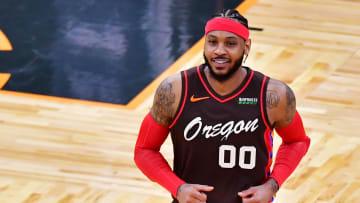 Carmelo Anthony subió al puesto 10 de puntos en la historia de la NBA