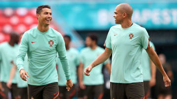 Portugal Training Session and Press Conference - UEFA Euro 2020: Group F