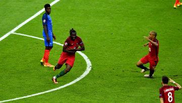 Eder celebra su histórico gol