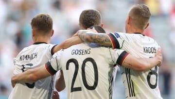 Les Allemands, menés par un incroyable Robin Gosens, l'ont emporté.